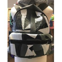 CMYKnot monochrome Back Pack