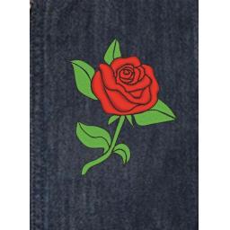 Embroidered Denim Jacket Buttoned 1 design